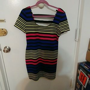 Material Girl juniors XL dress worn only twice